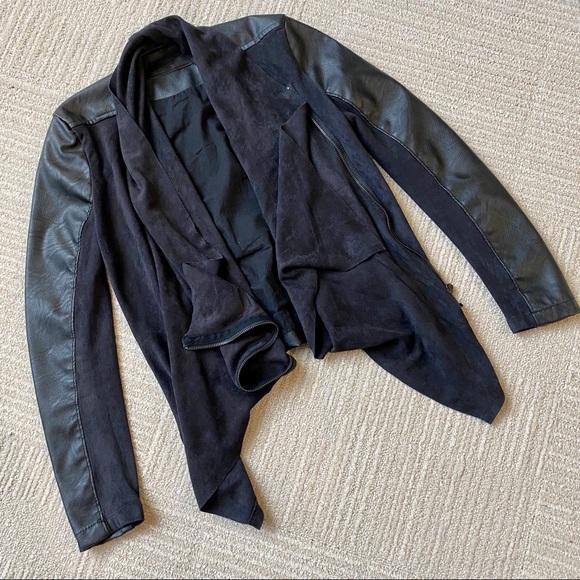 Blank NYC Jackets & Blazers - Blank NYC Black Moto Jacket XS